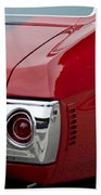 Chevrolet Chevelle Ss Taillight Emblem 3 Beach Towel