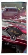 Chevy Bel Air Dash Beach Towel