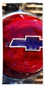 Chevy Red White And Blue Beach Towel