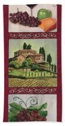 Chianti And Friends Collage 1 Beach Towel