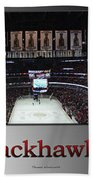 Chicago Blackhawks At Home Panorama Sb Beach Towel