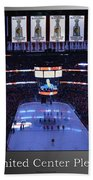 Chicago Blackhawks Please Stand Up With White Text Sb Beach Towel