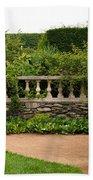 Chicago Botanic Garden Scene Beach Towel