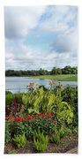 Chicago Botanical Gardens - 95 Beach Towel by Ely Arsha