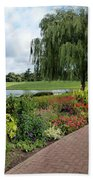 Chicago Botanical Gardens - 96 Beach Towel by Ely Arsha