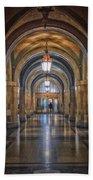 Chicago City Hall 1st Floor Hallway Area Hdr 01 Beach Towel