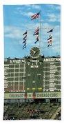 Chicago Cubs Scoreboard 02 Beach Towel