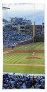 Chicago Cubs Up To Bat Beach Towel