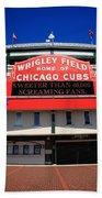 Chicago Cubs - Wrigley Field Beach Towel