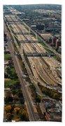 Chicago Highways 02 Beach Towel