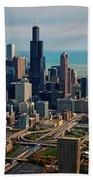 Chicago Highways 05 Beach Towel