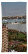 Chicago Montrose Harbor 01 Beach Towel