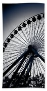 Chicago Navy Pier Ferris Wheel Beach Towel