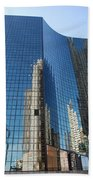 Chicago Reflections Beach Towel