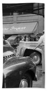 Chicago Traffic, 1941 Beach Towel