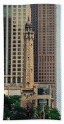 Chicago Water Tower Beach Sheet