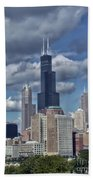 Chicago Willis Sears Tower Beach Towel
