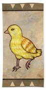 Chick Two Beach Towel