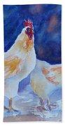 Chicken Duo Beach Towel