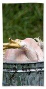 Chicken Feet Beach Towel
