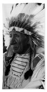Chief Red Cloud Beach Towel by War Is Hell Store