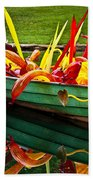 Chihuly Boat Beach Towel by Diana Powell