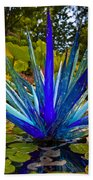 Chihuly Lily Pond Beach Towel