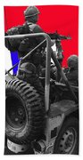 child soldier 100th anniversary parade nogales Arizona 1980-2012 Beach Towel