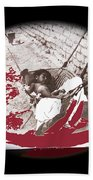 Child Tohono O'odham Hammock #1 Unknown Location And Date - 2013 Beach Towel