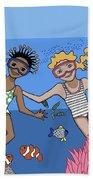 Children 3 Beach Towel