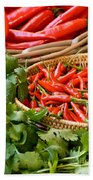 Chillies 04 Beach Towel