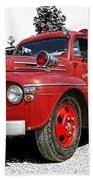 Chilliwack Fire- Mercury Firetruck Beach Sheet