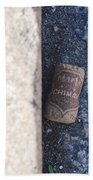 Chimay Wine Cork Beach Sheet