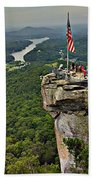 Chimney Rock Overlook Beach Towel
