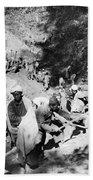 China Burma Road, 1944 Beach Towel