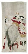 China Concubine & Horse Beach Towel