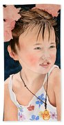 China Doll Beach Towel