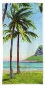 Chinamans Hat - Oahu Beach Towel
