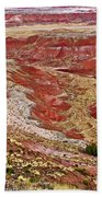 Chinde Point In Painted Desert In Petrified Forest National Park-arizona Beach Towel