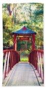 Chinese Bridge Wandiligong Beach Towel