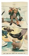 Chinese Exclusion Act, 1905 Beach Towel