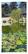 Chinese Garden - Huntington Library. Beach Towel