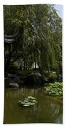 Chinese Gardens The Huntington Library Beach Towel