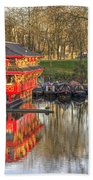 Chinese Reflections  Beach Towel