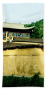 Chinese Temple Beach Towel