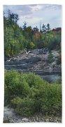 Chippewa River Ontario Canada Beach Towel