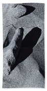 Chiseled By The Wind Beach Towel