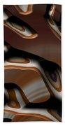 Chocolate Bark Beach Towel