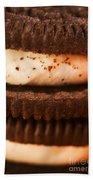 Chocolate Cookies Beach Towel