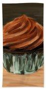 Chocolate Cupcake Beach Towel